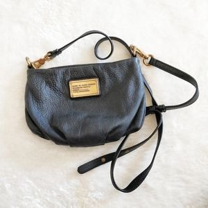 Marc by Marc Jacobs black leather crossbody.